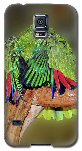 Silly Amazon Parrot Galaxy S5 Case by Smilin Eyes  Treasures