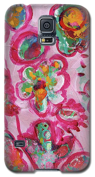 Silly Flowers Galaxy S5 Case