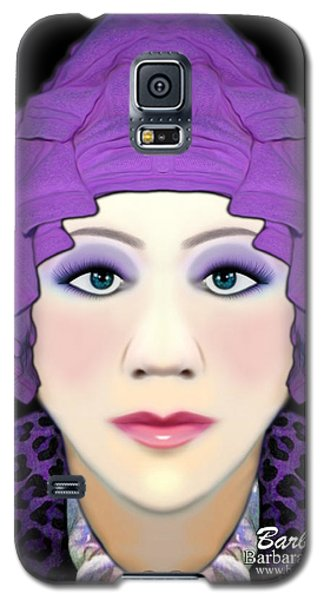Galaxy S5 Case featuring the photograph Silly Headdress by Barbara Tristan