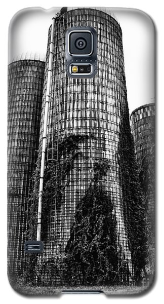 Galaxy S5 Case featuring the photograph Silos by Tamera James
