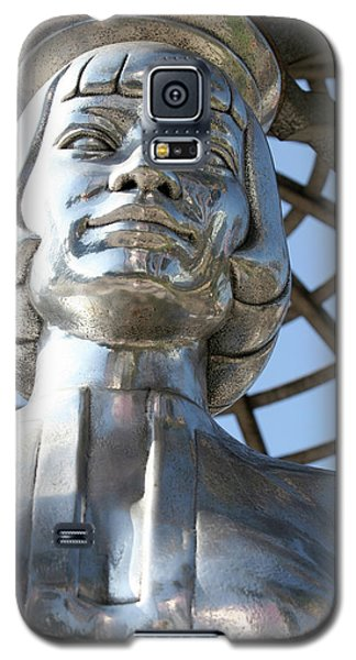 Silver Anna May Wong Galaxy S5 Case