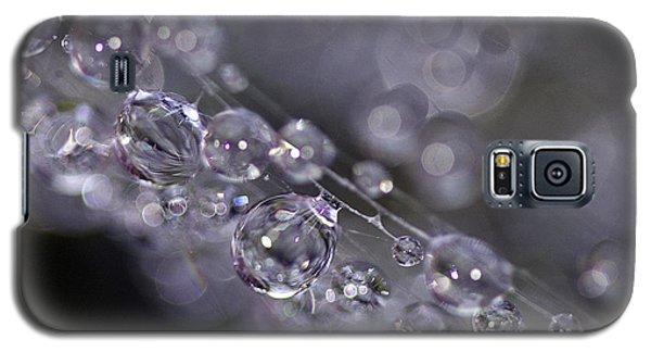 Silver Baubles Galaxy S5 Case by Rebecca Cozart