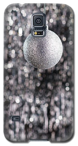 Galaxy S5 Case featuring the photograph Silver Christmas by Ulrich Schade
