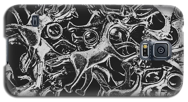 White Horse Galaxy S5 Case - Silver Cup by Jorgo Photography - Wall Art Gallery