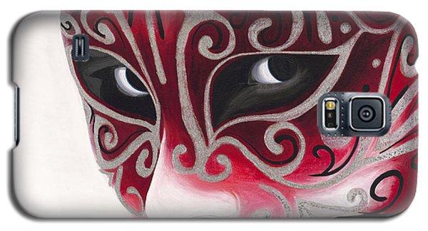 Silver Flair Mask Galaxy S5 Case