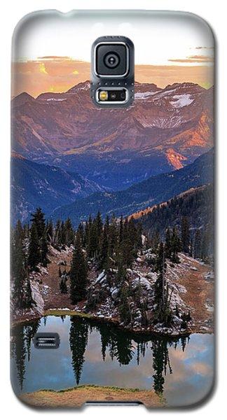 Silver Glance Lake Ig Crop Galaxy S5 Case