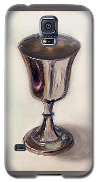 Silver Goblet Galaxy S5 Case