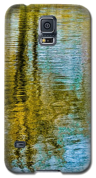 Silver Lake Autum Tree Reflections Galaxy S5 Case by Michael Bessler