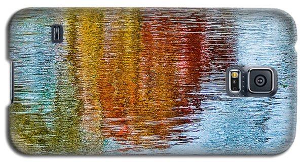 Silver Lake Autumn Reflections Galaxy S5 Case by Michael Bessler