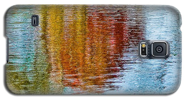 Silver Lake Autumn Reflections Galaxy S5 Case