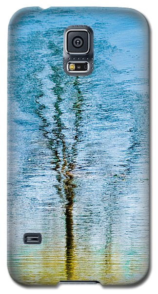 Silver Lake Tree Reflection Galaxy S5 Case by Michael Bessler