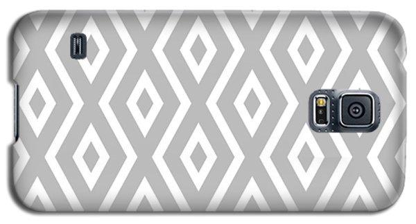 Silver Pattern Galaxy S5 Case