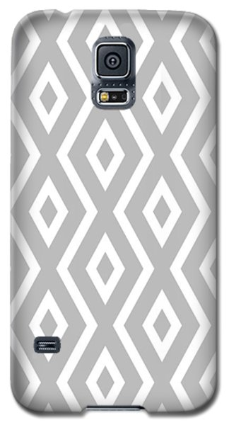 Silver Pattern Galaxy S5 Case