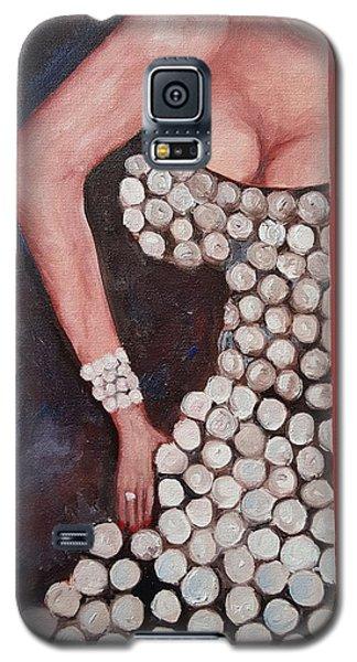Silver Queen   39 Galaxy S5 Case