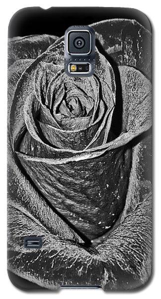 Silver Rose Galaxy S5 Case