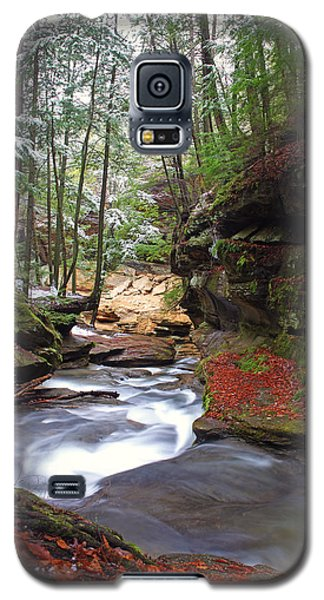 Galaxy S5 Case featuring the photograph Silver Singing River by Jaki Miller