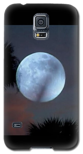 Silver Sky Ball Galaxy S5 Case