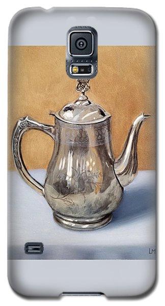 Silver Teapot Galaxy S5 Case