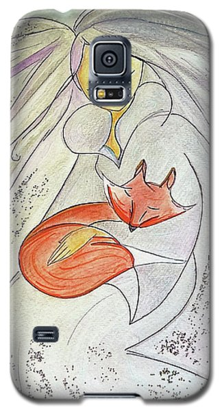 Silver Threads Galaxy S5 Case