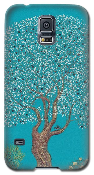 Silver Tree Galaxy S5 Case by Charles Cater