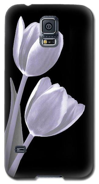Silver Tulips Galaxy S5 Case