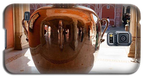 Silver Water Urn Jaipur Galaxy S5 Case