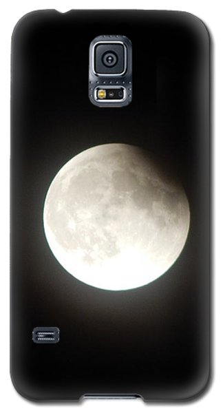 Silver White Eclipse Galaxy S5 Case