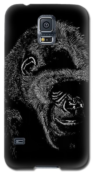 Silverback Galaxy S5 Case by Lawrence Tripoli