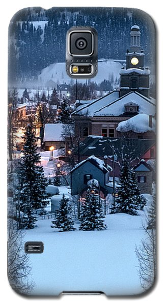 Silverton At Night Galaxy S5 Case