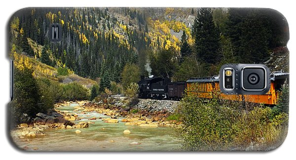 Galaxy S5 Case featuring the photograph Silverton Bound by Kurt Van Wagner
