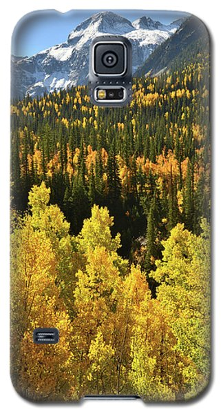 Galaxy S5 Case featuring the photograph Silverton Mountainscape by Ray Mathis