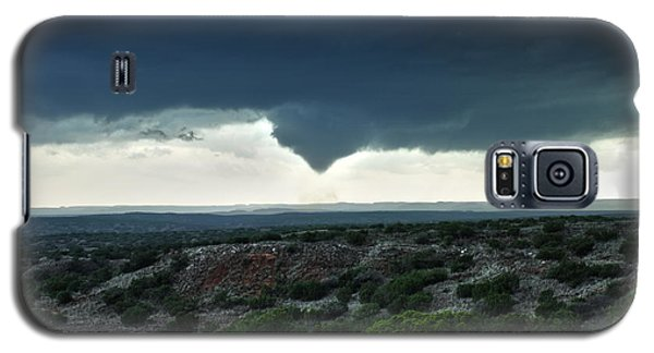 Silverton Texas Tornado Forms Galaxy S5 Case by James Menzies