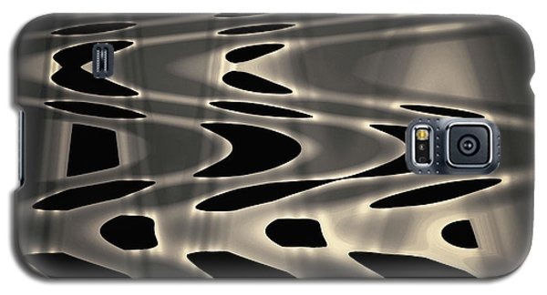 Silvery Abstraction Toned  Galaxy S5 Case