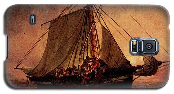 Simonsen Niels Arab Pirate Attack Galaxy S5 Case by Niels Simonsen