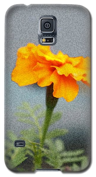 Galaxy S5 Case featuring the photograph Simple Bright Flower by Ellen O'Reilly