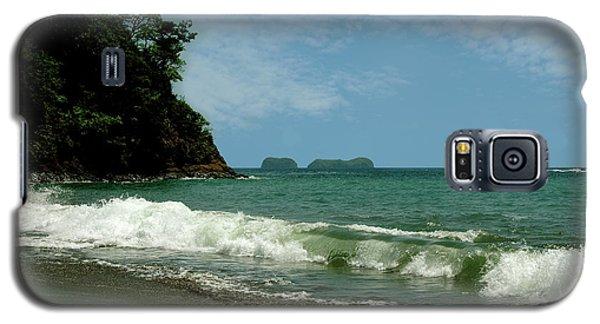 Simple Costa Rica Beach Galaxy S5 Case