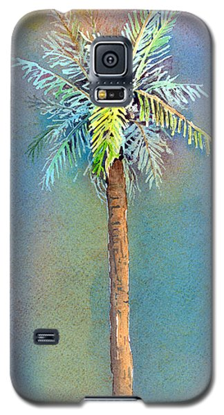 Simple Palm Tree Galaxy S5 Case by Arline Wagner