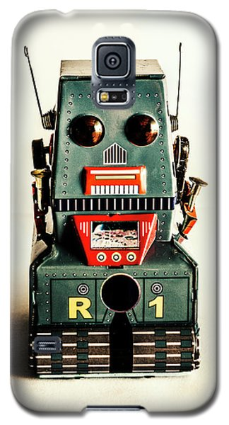Simple Robot From 1960 Galaxy S5 Case