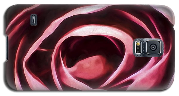 Simple Rose Galaxy S5 Case