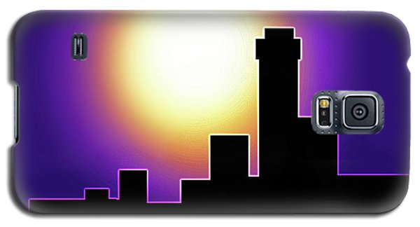 Simple Skyline Silhouette Galaxy S5 Case