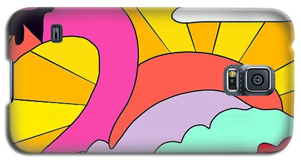 Simply Swan-sational Galaxy S5 Case