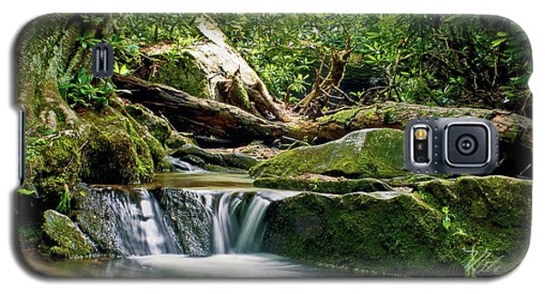 Sims Creek Waterfall Galaxy S5 Case by Meta Gatschenberger