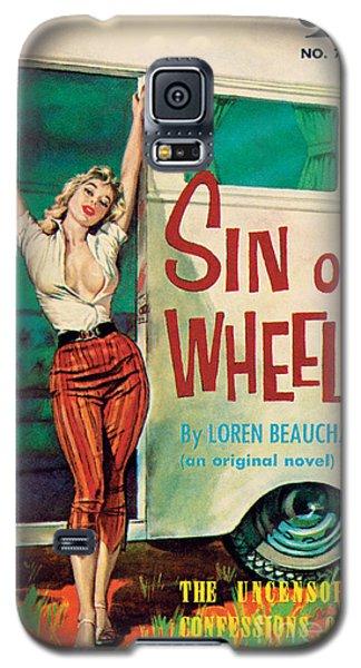 Sin On Wheels Galaxy S5 Case