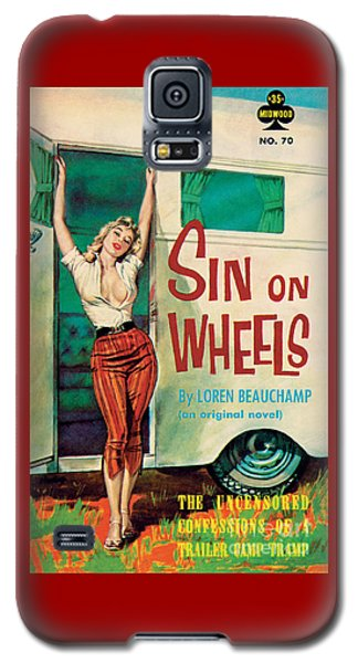 Sin On Wheels Galaxy S5 Case
