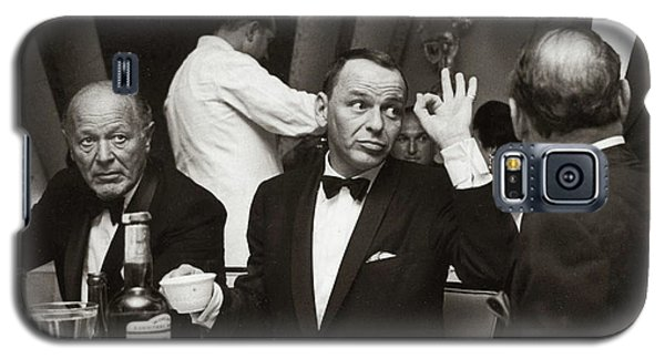 Sinatra And Ed Sullivan At The Eden Roc - Miami - 1964 Galaxy S5 Case