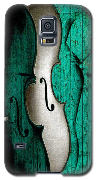 Violin Galaxy S5 Case - Sinful Violin by Greg Sharpe
