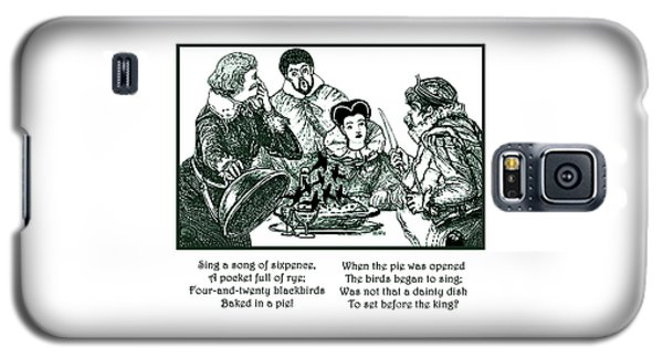 Sing A Song Of Sixpence Nursery Rhyme Galaxy S5 Case by Marian Cates