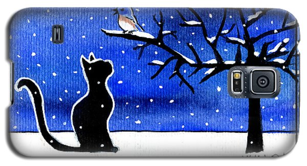 Sing For Me - Black Cat Card Galaxy S5 Case