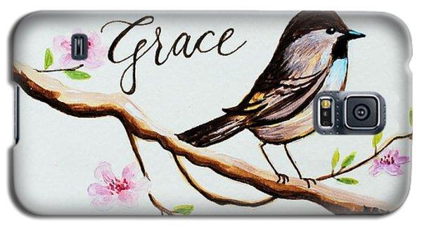 Garden Galaxy S5 Case - Sing Grace by Elizabeth Robinette Tyndall