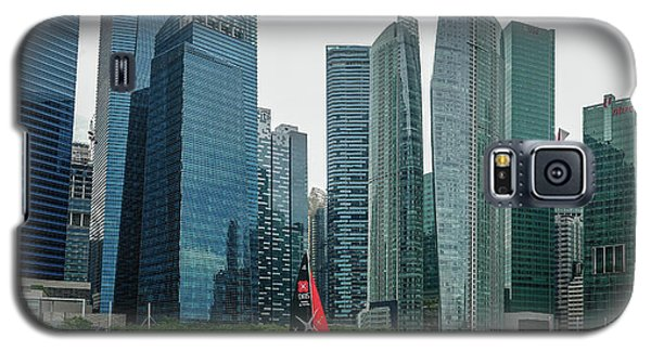 Singapore Harbour Galaxy S5 Case by Jocelyn Kahawai